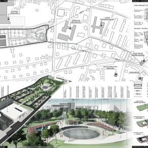Public librarry and City Hall by KAMarchitects