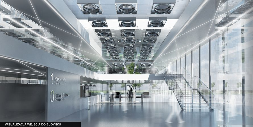 Massmedio entrance hall by KAMarchitects