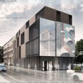 Psie Pole Cultural Center by KAMarchitects and ARTE Wizor Atelier