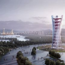 Xuzhou observation tower by KAMarchitects and ANS