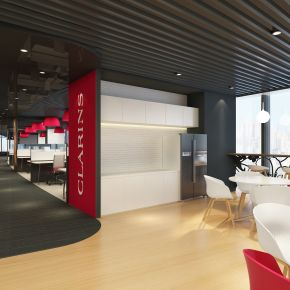 Clarins workplace by KAMarchitects and PSI
